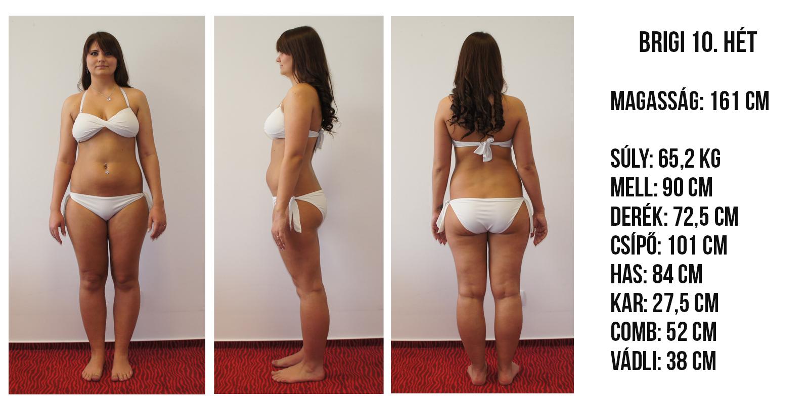 10 kg súlycsökkenés 10 hét alatt