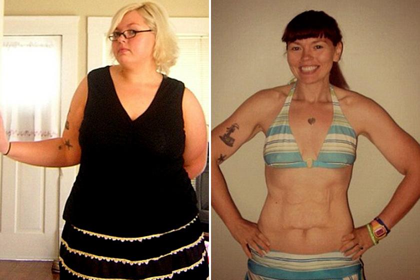 Ez a szexi nő 45 kilót fogyott a férje szeretője miatt