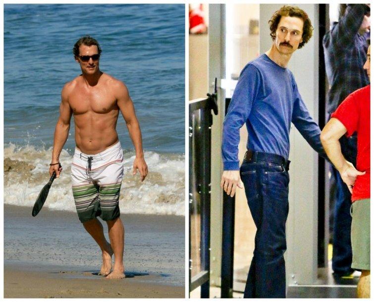 Mi történt vele? Egyre soványabb Matthew McConaughey   Well&fit