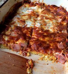 Diétás lasagne – Cukkinis lasagne tészta nélkül
