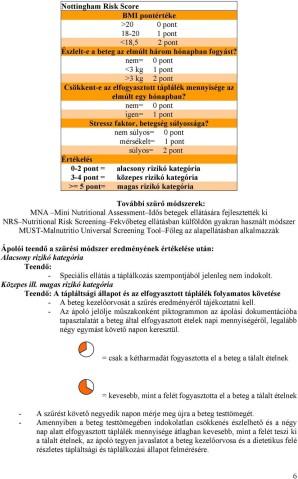 Májcirrózis és ápolási vonatkozásai