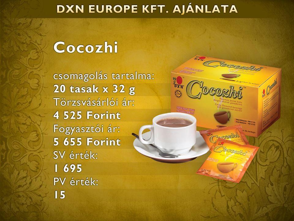 dxn kávé a fogyáshoz Constance wu fogyás