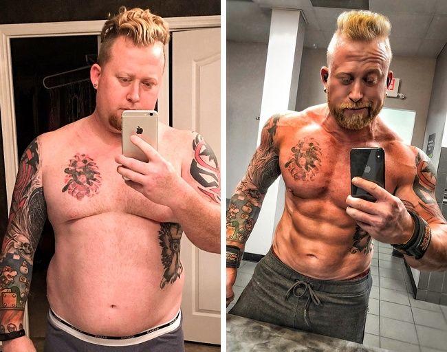 Minden leadott 10 kiló után 1 napot bűnözhettem, 1 év alatt 50 kilót fogytam!