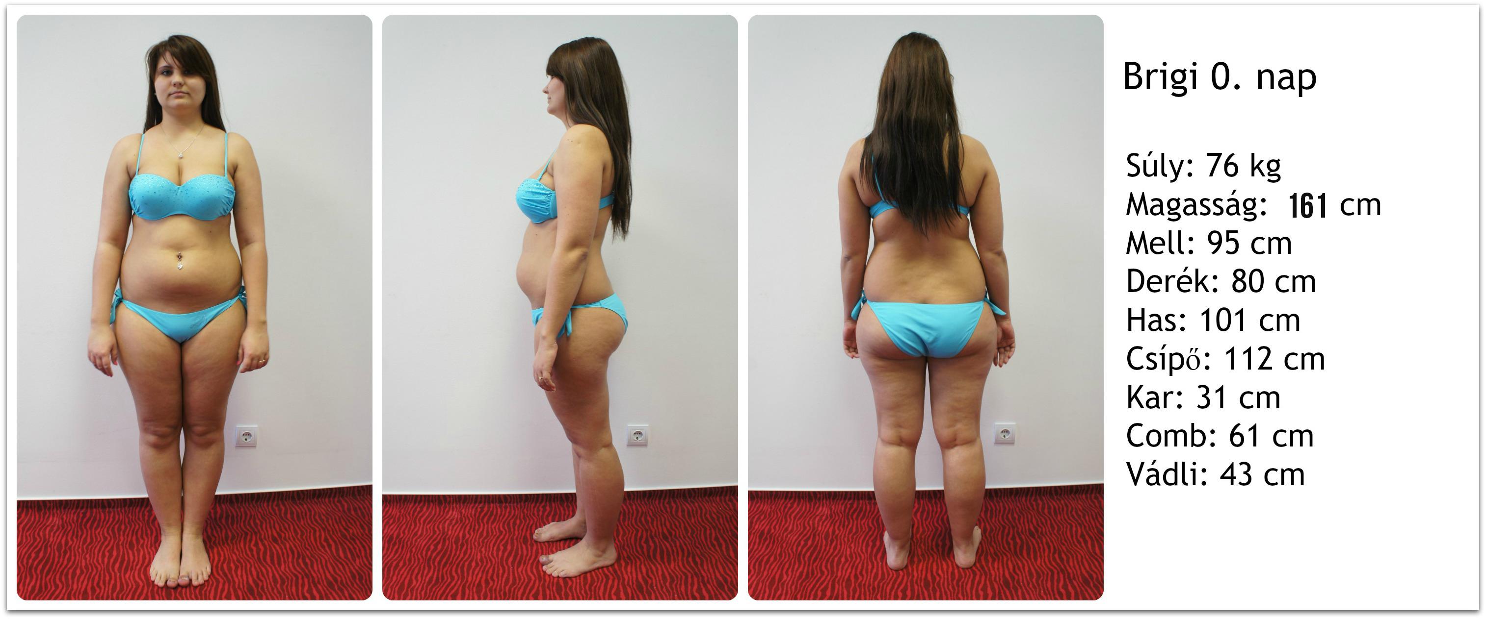 5 hónapos súlycsökkenés átalakulás)