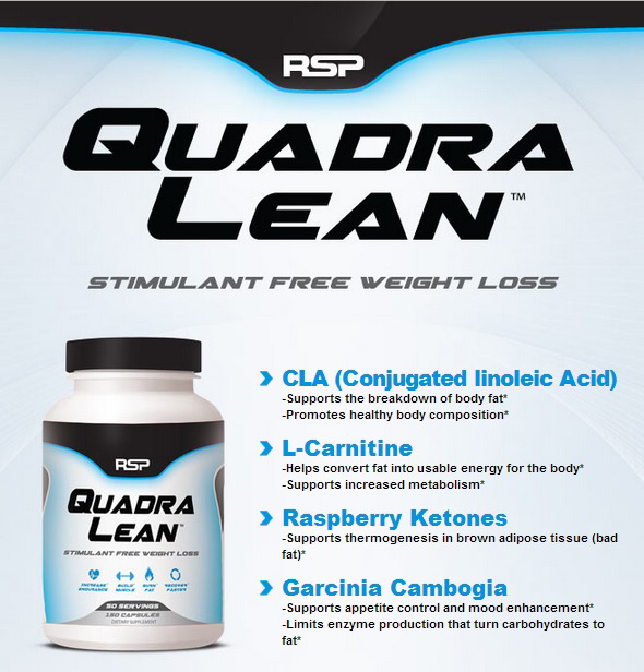 rsp quadralean zsírégető