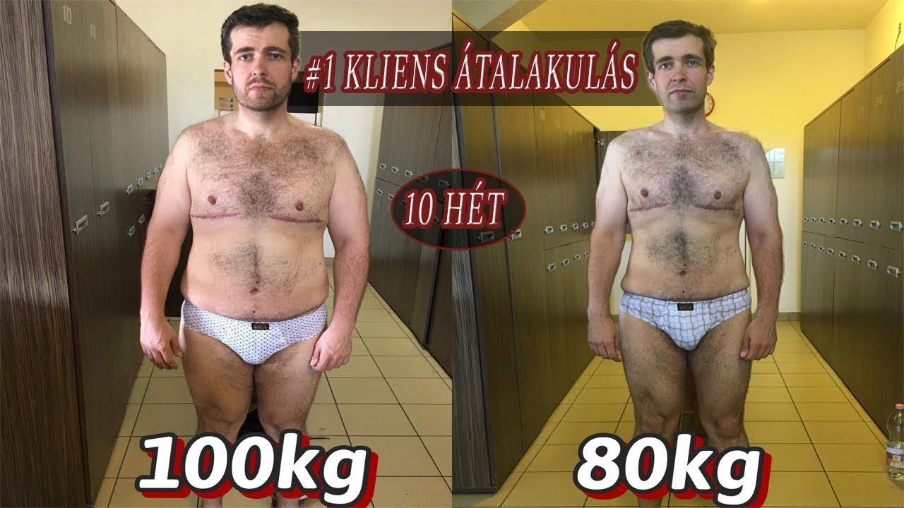 A minimális idő fogyni 20 kg