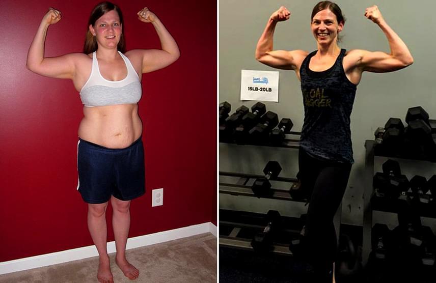 A Romantic énekesnője újra lefogyott - 10 hónap alatt 60 kilót adott le, ilyen most | NOSALTY