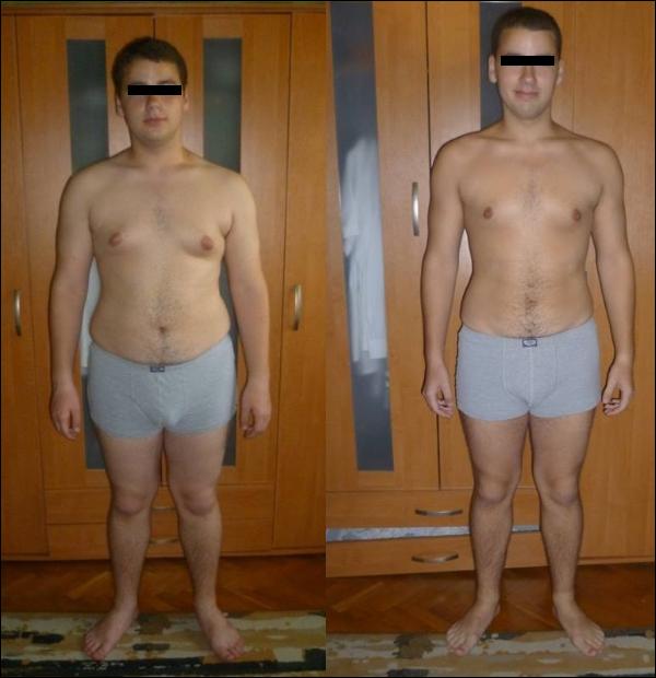 20 súlycsökkenés 6 hónap alatt