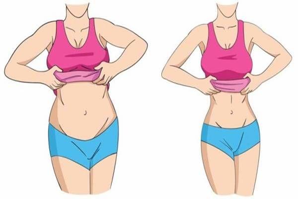 Zöldlé a fogyáshoz és a testzsír égetéséhez. Fogyás gyakorlat rutin nők harcol