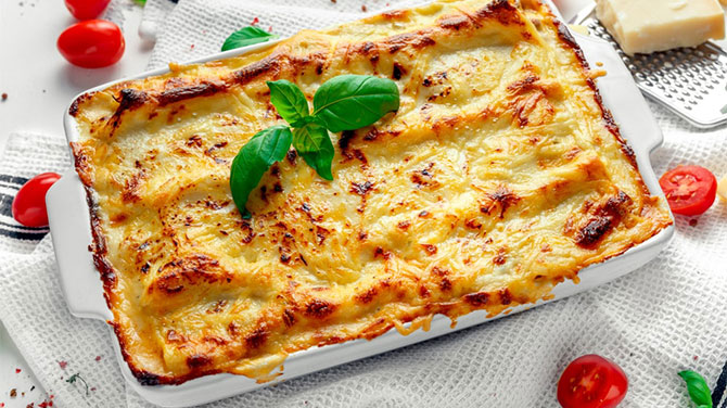 lasagne receptek, cikkek | szalok-szallas.hu