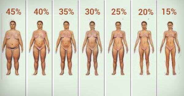 egészséges testzsír százalékos fogyás