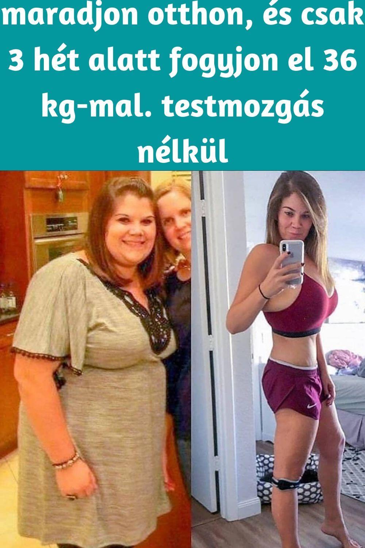 hogyan lehet lefogyni a has súlyát