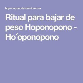 hooponopono fogyni