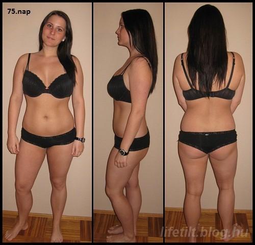 1 hónap alatt 15 kg fogyás