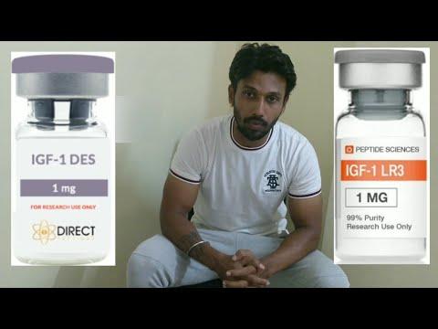 Humán növekedési hormon peptid IGF LR3 1