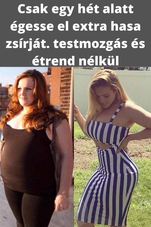 fogyás súlyok nélkül fogyás tippeket középkorú