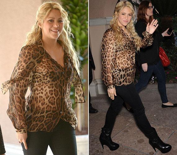 Shakira Régen és Most - Mobilzóna